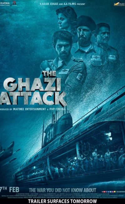 The Ghazi Attack Movie Review | Movie Review of The Ghazi Attack | Rocheston TV
