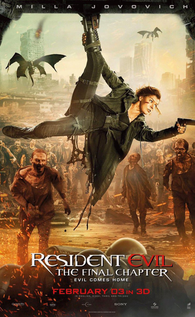 Resident Evil: The Final Chapter Movie Review | Movie Review of Resident Evil: The Final Chapter