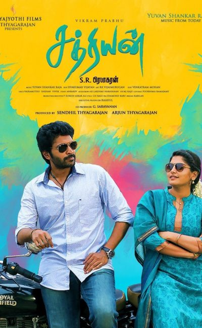Sathriyan Movie Review | Vikram Prabhu | S. R. Prabhakaran | Manjima Mohan | Movie Review of Sathriyan | Rocheston TV