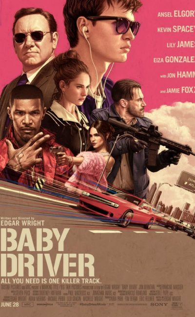 Baby Driver Movie Review | Edgar Wright | Ansel Elgort | Kevin Spacey | Movie Review of Baby Driver | Rocheston TV