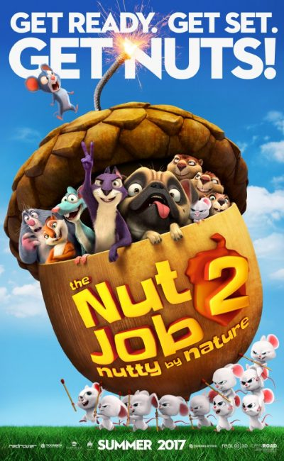 The Nut Job 2: Nutty by Nature 3D Movie Review | Director Cal Brunker | Movie Review of The Nut Job 2: Nutty by Nature | Rocheston TV
