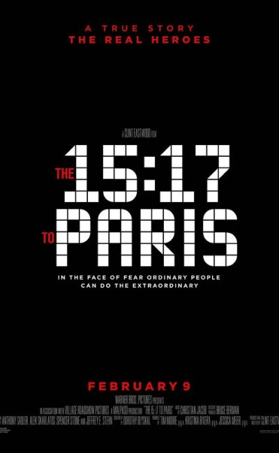The 15:17 to Paris Movie Review | Clint Eastwood | Anthony Sadler | Movie Review of The 15:17 to Paris | Rocheston TV