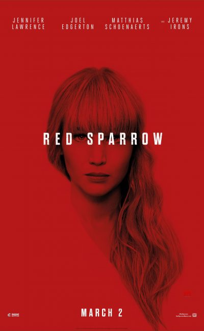 Red Sparrow Movie Review | Francis Lawrence | Jennifer Lawrence | Movie Review of Red Sparrow | Rocheston TV