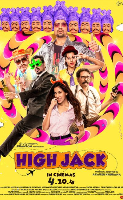 High Jack Movie Review | Akarsh Khurana | Sumeet Vyas | Sonnalli Seygall | Movie Review of High Jack | Rocheston TV