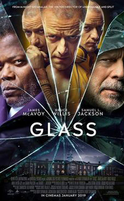 Glass Movie Review | M. Night Shyamalan | James McAvoy | Bruce Willis | Movie Review of Glass | Rocheston TV
